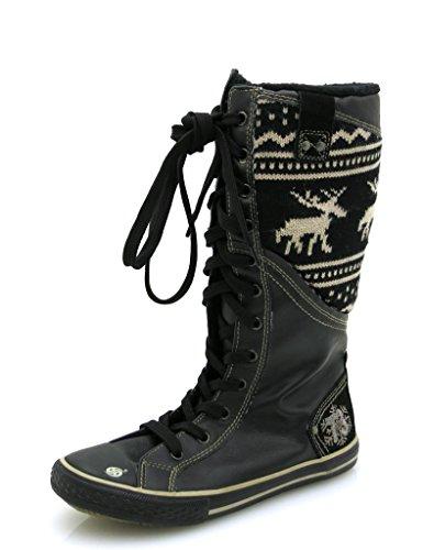 Dockers Bottes D'hiver Strickschaft Bottes Chaussures