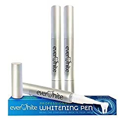 Everwhite Professional Affordable Teeth Whitening Pens (3-Pack)- 35% Carbamide Peroxide, Tooth Whitening In Under A Minute- For Sensitive Teeth