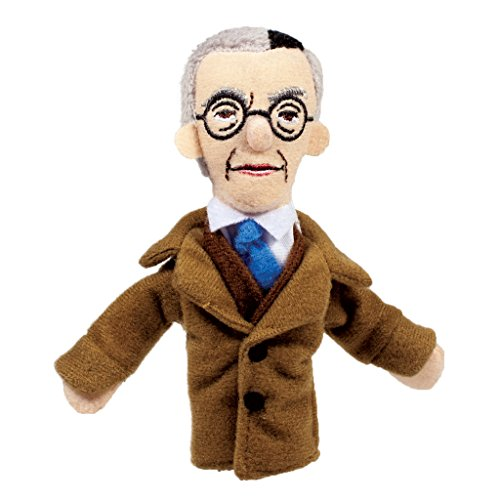Pals Finger Puppets - The Unemployed Philosophers Guild Kurt Godel Finger Puppet and Refrigerator Magnet - For Kids and Adults