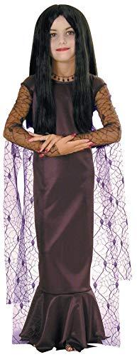 Morticia & Gomez Addams - Addams Family Child's Morticia Addams Costume,