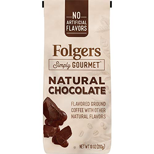 Folgers Gourmet Flavored Natural Chocolate