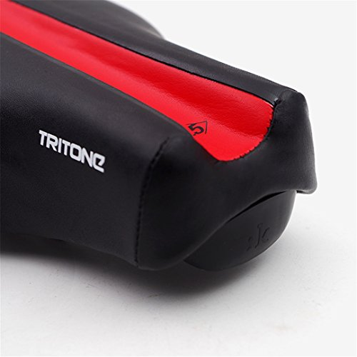 Fizik Tritone Wide Bicycle Saddle Road Ciclismo Ironman Triathlon Bike Racing Funda de Asiento Cojín de Cuero TT Tri Pad White Black: Amazon.es: Deportes y ...