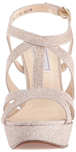 Queenie Ups Dress Platform Women's Sandal Touch Champagne qvF1Swwx