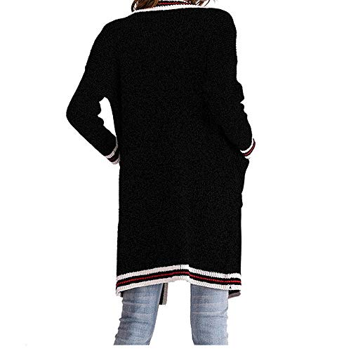 Black1 Women Long Xmiral Long Sleeve Cotton Autumn and Coat Thickening Parka Knee Winter Above Jacket Fashion Blend FwRxqdaR