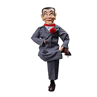 """Slappy Dummy, Ventriloquist Doll """"Star of Goosebumps"""", Famous Ventriloquist Dummy. Has glow in the dark eyes. BONUS E-Book 'How to Be a Ventriloquist'"""