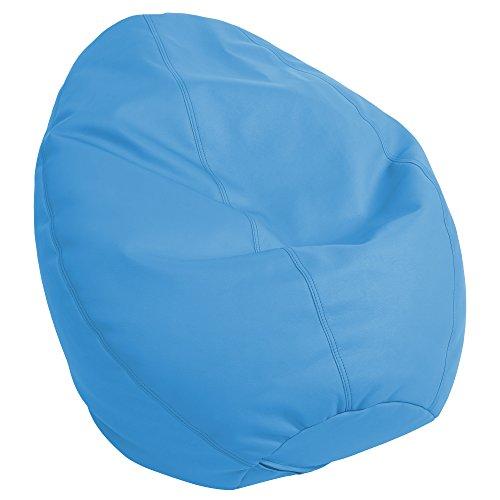 ECR4Kids Dew Drop Bean Bag Chair, French Blue by ECR4Kids
