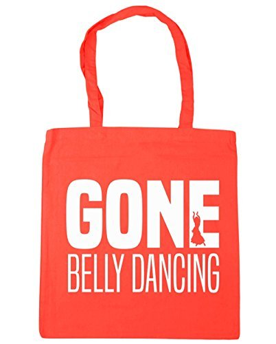 Gym Bag Coral x38cm litres Gone HippoWarehouse Beach Belly 42cm Dancing Tote 10 Shopping 7Uf0Xqw