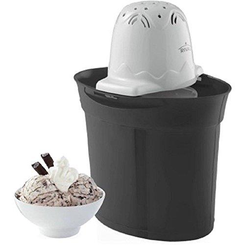 Rival Frozen Delights 4 Quart Ice Cream Maker - BLACK by Rival (Image #1)'