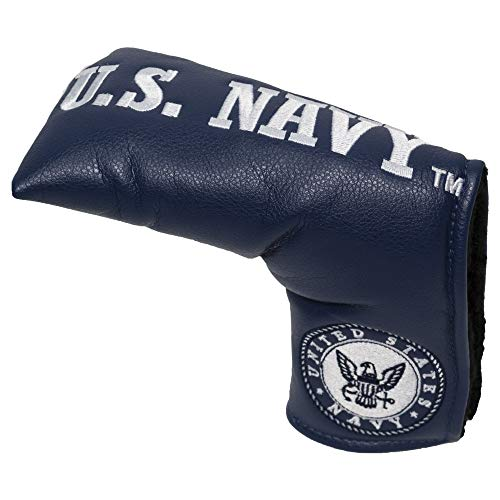 Team Golf Military Navy Golf Club Vintage Blade Putter Headcover, Form Fitting Design, Fits Scotty Cameron, Taylormade, Odyssey, Titleist, Ping, -