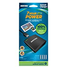 Rayovac PS73-4BT6  7-Hour Power Back Up for iPhones, Android, and Micro-USB Mobile Phones