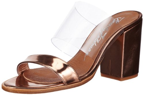 Beverly Feldman BIG DADDY Damen Clogs & Pantoletten Orange (Peach Metal)
