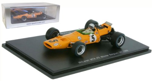 1/43 McLaren M7A No.5 Winner Belgium GP 1968 Bruce McLaren(イエロー) S3108