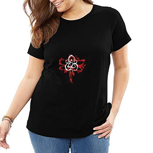 DaigMeng Coheed and Cambria Womens T-Shirt Summer Print Short Sleeve Top