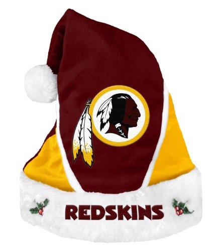 Redskins Santa - Washington Redskins 2014 Colorblock Santa Hat