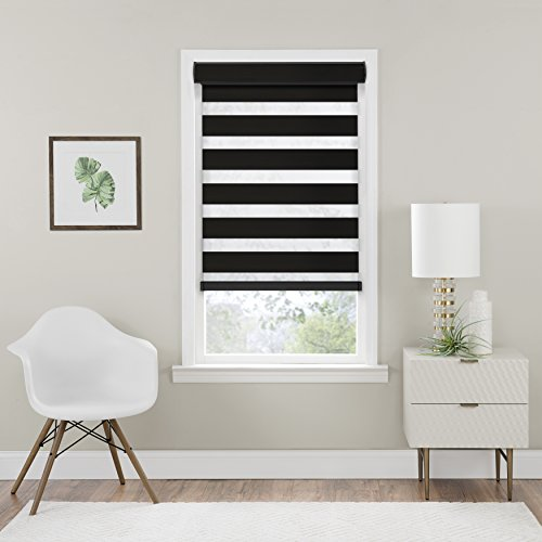 - Achim Home Furnishings Cordless Celestial Room Darkening Double Layered Shade 29
