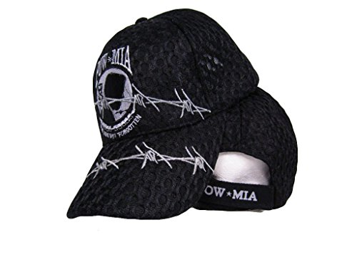POWMIA Pow Mia Mesh Style Barbed Wire Never Forgotten baseball Hat Cap