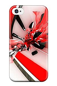 Iphone 4/4s KciOOlS6155dCgmW Pure Abstraction Tpu Silicone Gel Case Cover. Fits Iphone 4/4s
