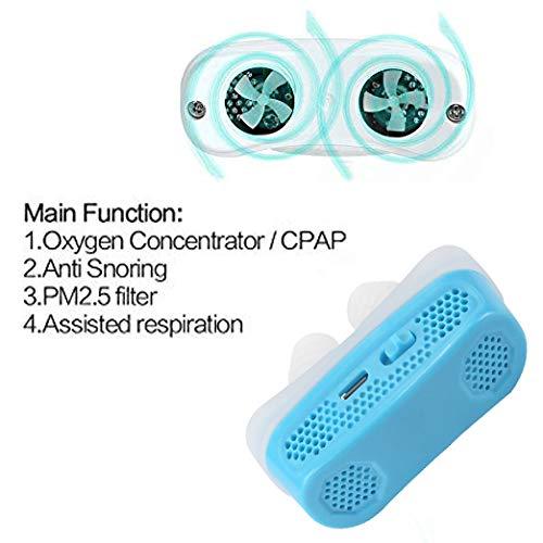 Amazon.com: Dispositivos antironquidos electrónicos 2 en 1 ...
