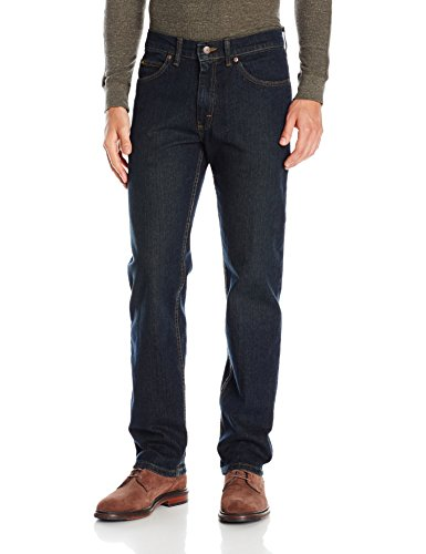 Lee Men's Regular Fit Straight Leg Jean, Stout, 34Wx32L