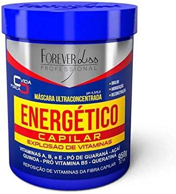 Máscara Energetico Capilar, FOREVER LISS, Azul, 950gr