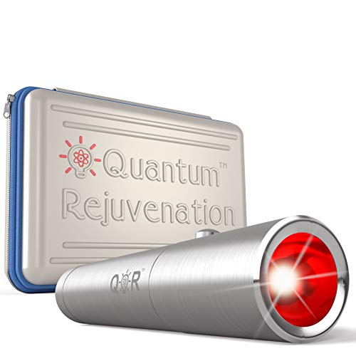 Quantum RejuvenationTM Introductory Sale - Red Light Therapy Device - FDA Registered Advanced Pain Relief - Joint & Muscle Reliever - Medical Grade