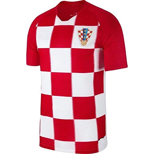 Croatia Football Shirts - Team HNS Croatia Soccer Jersey Adult Men's Sizes Football World Cup Premium Gift (L, Home Jersey)