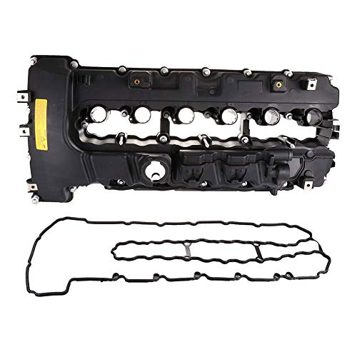 BOXI Engine Valve Cover With Gasket For BMW 135I 335I 535I Z4 X6 Turbo Valve Cover 11127565284 (Bmw Valve Cover)