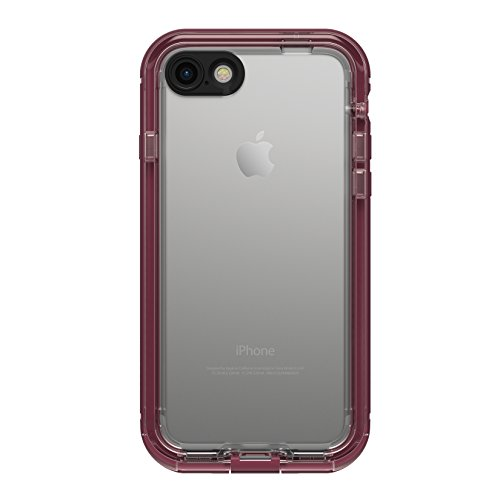LifeProof NÜÜD SERIES Waterproof Case for iPhone 7 (ONLY) - Retail Packaging - PLUM REEF (WILD BERRY/DEEP PLUM PURPLE/CLEAR)