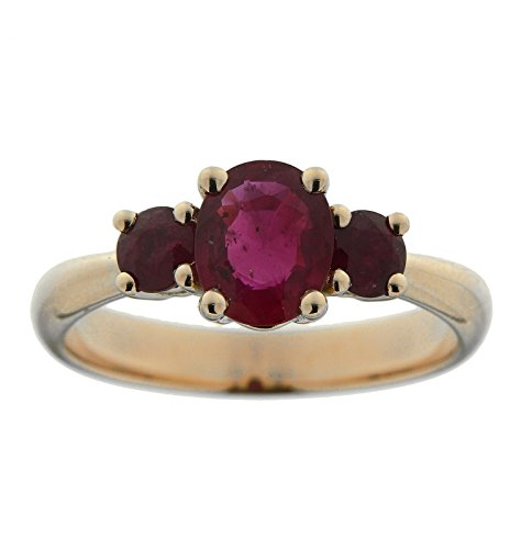 Bague Or 750 Rubis ref 42630