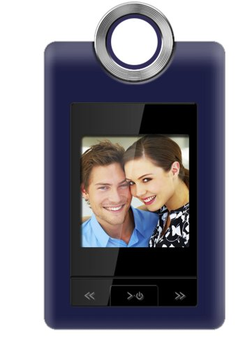 Coby 1.5 Digital Photo Keychain (Coby 1.5-Inch Digital LCD Photo Cliphanger DP152BLU (Blue))