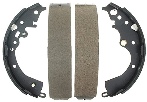 ACDelco 17871B Professional Bonded Rear Drum Brake Shoe Set