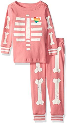 Baby Skeleton Pajamas - Gymboree Baby Girls 2-Piece Tight Fit