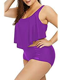 Amazon.com: Plus Size - Bikinis / Swimsuits & Cover Ups: Clothing, Shoes & Jewelry