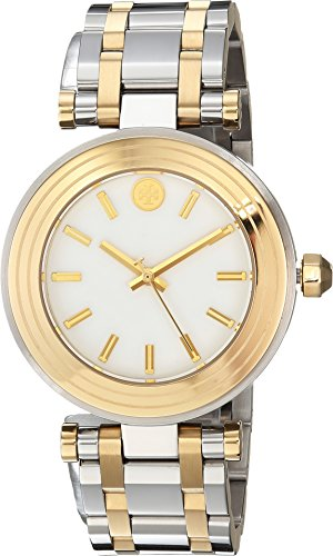 Tory Burch Women's Classic T - TBW9005 Two-Tone Silver/Gold One ()