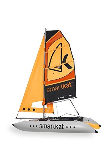 Inflatable Sailboat (Smartkat Inflatable Sailing Catamaran (5 Meter Racing Hull))