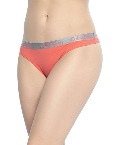 Calvin Klein Women's Radiant Logo Cotton 3 Pack Thong Panty, Unity/Ashford Grey/Teardrop, Large