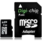Digi Chip 32GB Micro-SD Class 10 For DBPower, Apeman, VicTsing, Wimius, Akaso Action Cameras Cam