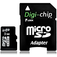 Digi-Chip HIGH SPEED 32GB UHS-1 CLASS 10 Micro-SD Memory Card for Samsung Galaxy J1, Galaxy J5 and Galaxy J7 Cell Phones
