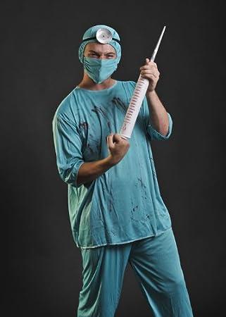 Traje cirujano sangriento Horror adulto: Amazon.es: Juguetes y juegos