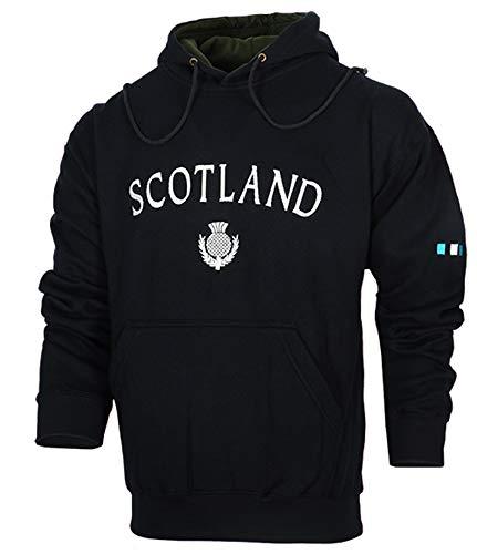 Malham Scotland Hooded Sweatshirt (XL) (Scotland Hoodie Mens)