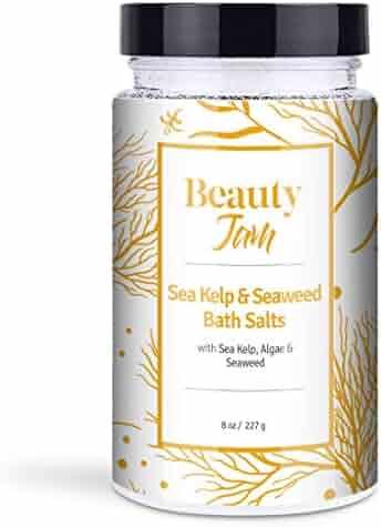 Beauty Jam Sea Kelp and Seaweed Bath Salts, 8 Ounce