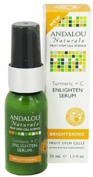 Andalou Naturals Turmeric + C Enlighten Serum, 1.1 Ounce