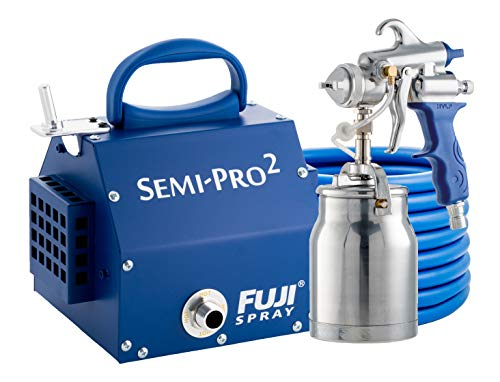 (Fuji 2202 Semi-PRO 2 HVLP Spray System, Blue )