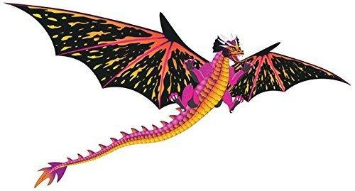 BRAIN STORM KITES 71101 WNS FantasyFliers 52x64 Nylon 3D - Nylon Dragon