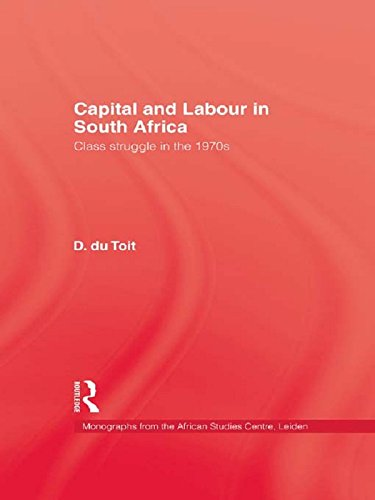 Capital & Labour In South Africa Pdf