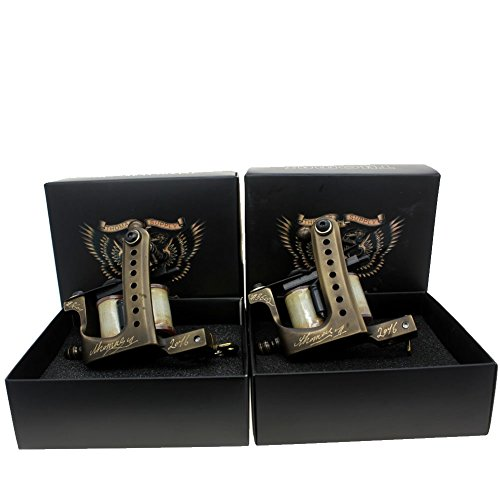 Thomas Brass Frame Coil Tattoo Machines Tattoo Guns Handmade for Tattoo Supply(LinerShader)