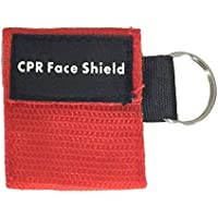 BFHCVDF First Aid Mini CPR Keychain Mask/Face Shield Barrier Kit Health Care