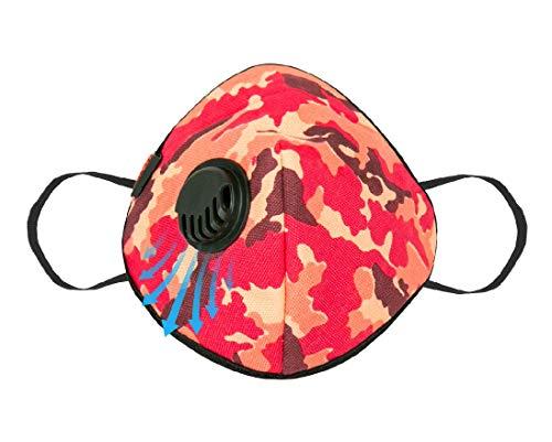 Asian Army Pink Ultra reusable respirator cloth mask Medium Size Price & Reviews