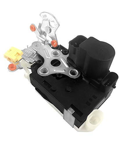 Exerock 931-318 Front Left Driver Side Door Latch Lock Actuator Assembly Fit for Cadillac Escalade Chevrolet Avalanche Silverado Suburban Tahoe GMC Sierra Yukon 15053681 15068499 15110643 (Suburban New Left Driver)