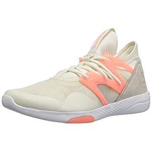 Reebok Women's Hayasu Track Shoe, chalk/Sand Stone/Sour Melon/White, 9.5 M US